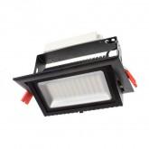 Proyector Basculante LED Samsung Rectangular 48W Negro