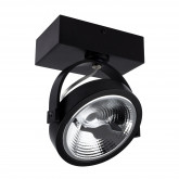 Foco LED cree instalación en superficie orientable AR111 15W Dimable Black