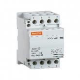 Contactor 63A con 4 Polos-4 NO