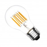 Bombilla LED E27 Regulable Filamento Standard 6W