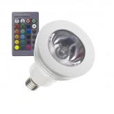 Bombilla LED E14 RGB 3W