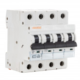 Interruptor Magnetotérmico Industrial 4 Polos 6kA