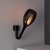 Aplique Antorcha LED Solar Efecto Llama