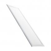 Panel LED extraplano 120x30 40W marco blanco con Kit de emergencia