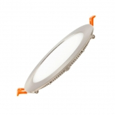 Downlight LED Circular Extraplano 12W Aluminio Satinado