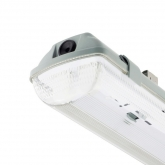 Pantalla Estanca para dos Tubos LED 600mm