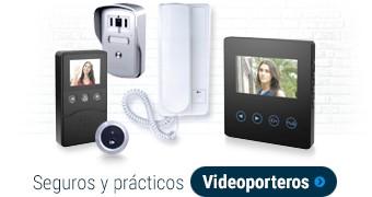 Porteros y Videoporteros prácticos y seguros